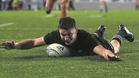 Last-gasp Beauden Barrett try gives All Blacks win over Australia