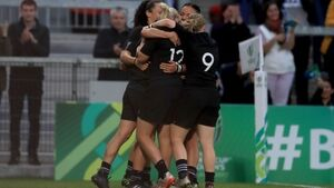 Black Ferns become Women's Rugby World champions in Belfast