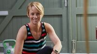 Derval O'Rourke focuses on goal setting through healthy eating and movement