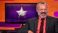 Here's who'll be on the couch with Graham Norton tonight