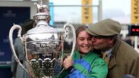 'This is our Gold Cup': O'Sullivan family 'over the moon' to take Foxhunter shock