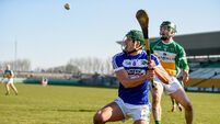 Comfortable win for Offaly against Laois in bitingly cold conditions