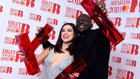Here is the full list of winners from the Brit awards