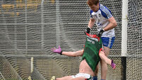 Mayo grab late winner against 12-man Monaghan