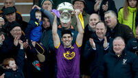 Watch: Hurling's first free-taking competition sees Wexford beat Kilkenny in ill-tempered Walsh Cup final