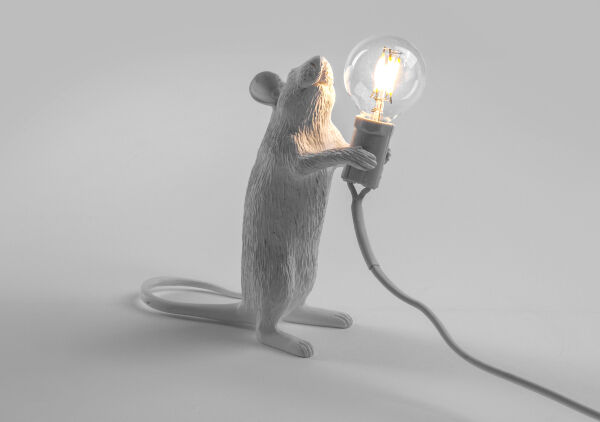 The Mouse Lamp available from April and the Bear, €65