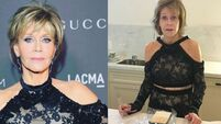 Jane Fonda shares 'morning after' photo because the struggle is real