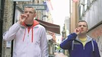 "Filming on new six part ""Young Offenders"" series began today in Cork"