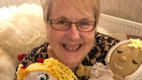 Meet the nana who knits life-changing dolls for amputee children and adults