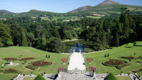 Blake Lively and Ryan Reynolds visit Powerscourt
