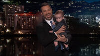 Jimmy Kimmel makes an emotional plea for children's health care with his son, Billy