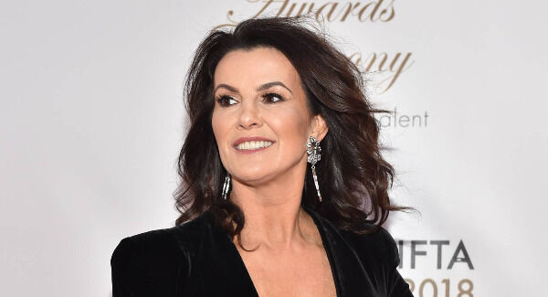 Deirdre O'Kane arriving on the red carpet. Photo: Michael Chester