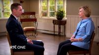 What Happened...Ryan interviews Hillary on this week's Late Late Show