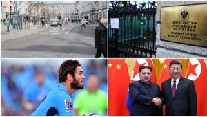 MORNING BULLETIN: Coveney plan for 'legal lock' in tatters; Criticism over expelling Russian diplomat dismissed