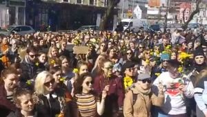 #IBelieveHer rallies taking place nationwide in aftermath of Belfast rape trial