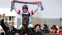 Ruby Walsh: Photo looking a picture for Gold Cup