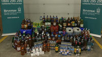 Alcohol and cigarettes worth almost €8k seized at Dublin Port