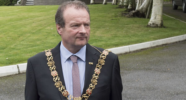 Former Lord Mayor of Cork Chris O'Leary