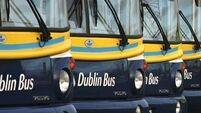 Seven people hospitalised after two bus crashes in Dublin