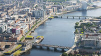 Heroic firefighters save woman from River Shannon in Limerick city
