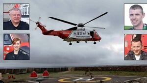 Irish Coast Guard honoured for bravery at People of the Year awards