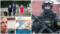 LUNCHTIME BULLETIN: Loaded Garda submachine gun found on Dublin street; Ireland's Royal Visit