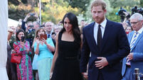 Vicky Phelan amongst guests at garden party for Prince Harry and Meghan Markle