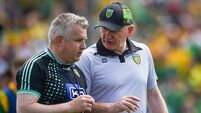 Rochford to remain as Donegal coach/selector for 2020 season