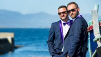 Wedding of the week: Love blossoms for florist Peter and his groom Brendan
