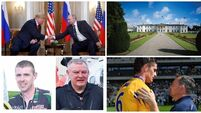 LUNCHTIME BULLETIN: Trump and Putin begin summit; Manhunt underway after robbery at Limerick bookies