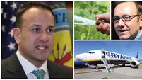 MORNING BULLETIN: Varadkar says he understands Trump's frustration with the media; Ryanair strikes threaten to spoil holidays