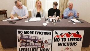 'Is the Govt on the side of the vulture funds?' - Leeside Apartments residents call for action on evictions