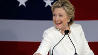 Hillary Clinton to receive honorary degree in Dublin