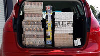 11,500 unstamped cigarettes seized in Dublin