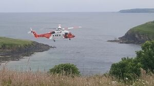Swimmer taken from sea off Kinsale in critical condition