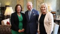Mary Lou McDonald meets Prince Charles in an 'opportunity to extend the hand of friendship'