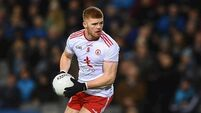 Tyrone All-Star Cathal McShane set for five months on sideline