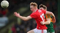 Damien Gore back in the Cork side as they look to keep 100% record