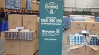 8.3 million cigarettes in container labelled 'car parts' seized at Dublin Port