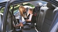 One in ten children not using seat belts when travelling in back seat