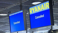 Latest: Ryanair apologises to 3,500 passengers affected by next week's strike
