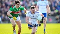 Monaghan ease to victory over 13-man Mayo