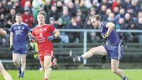Banty joy as subdued Tyrone miss Cathal McShane