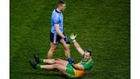 Michael Murphy frustrated by red card over John Small incident
