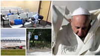 BULLETIN: Pope's visit will move families out of emergency accommodation; Mother held in Dubai after one glass of wine