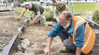 Human remains found by archaeologists at Waterford site