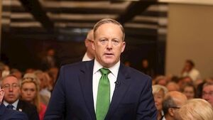 Sean Spicer predicts six more years of President Trump during Dublin visit