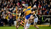 Clare denied victory over Kilkenny after late Murphy score earns draw