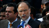 Pakistan's interior minister  shot and wounded after public meeting