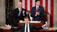 Emmanuel Macron rejects nationalism in speech to US congress